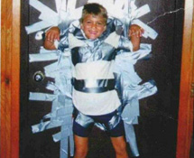 duct taped kid
