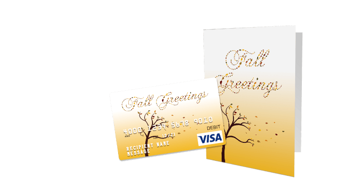 Fall Season Gift Card Designs | GiftCards.com