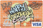 Graffiti Happy Birthday