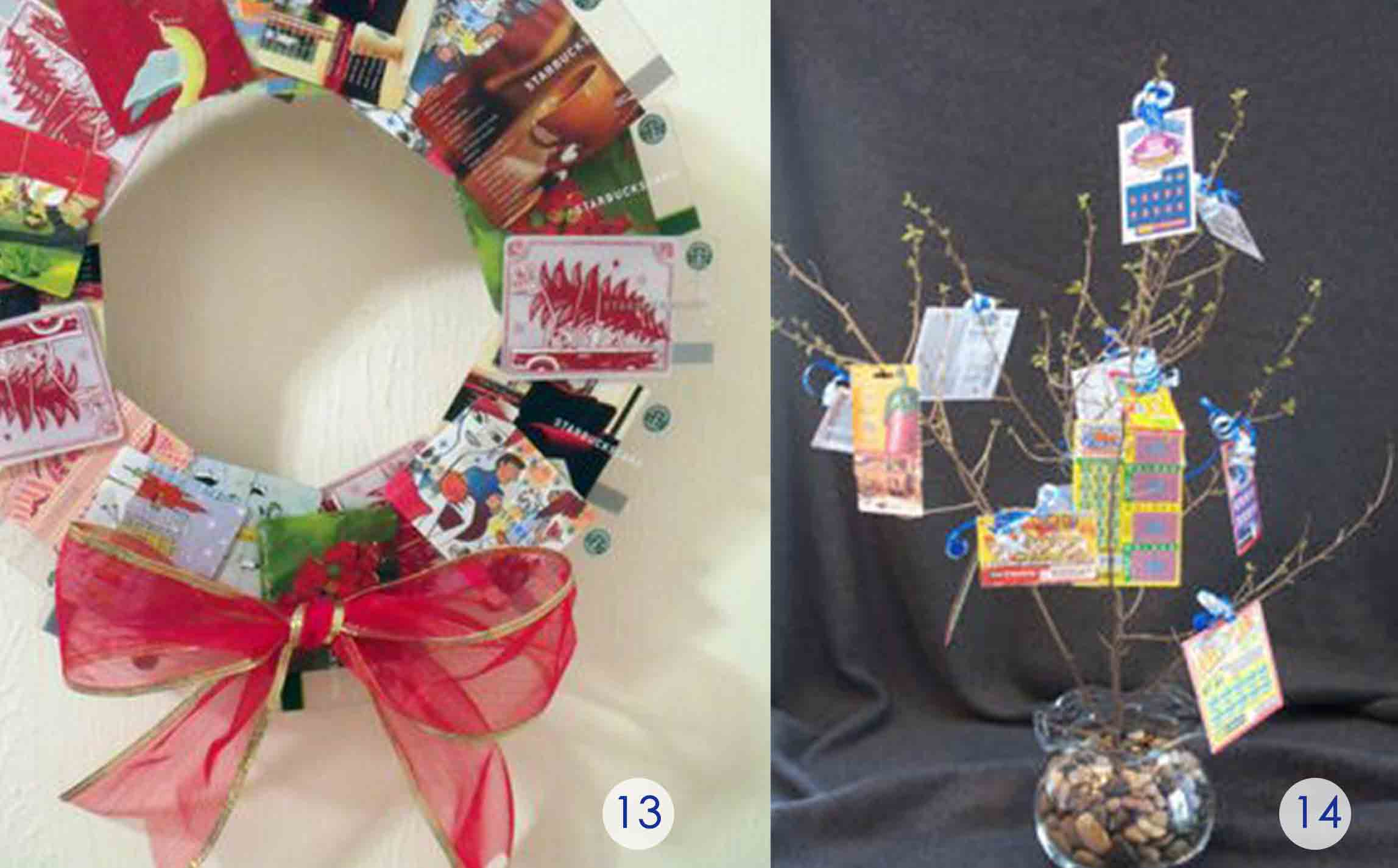 The Best Gift Card Tree And Gift Card Wreaths Ever Gcg