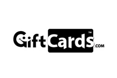 Download GiftCards.com No Tagline B/W Logo