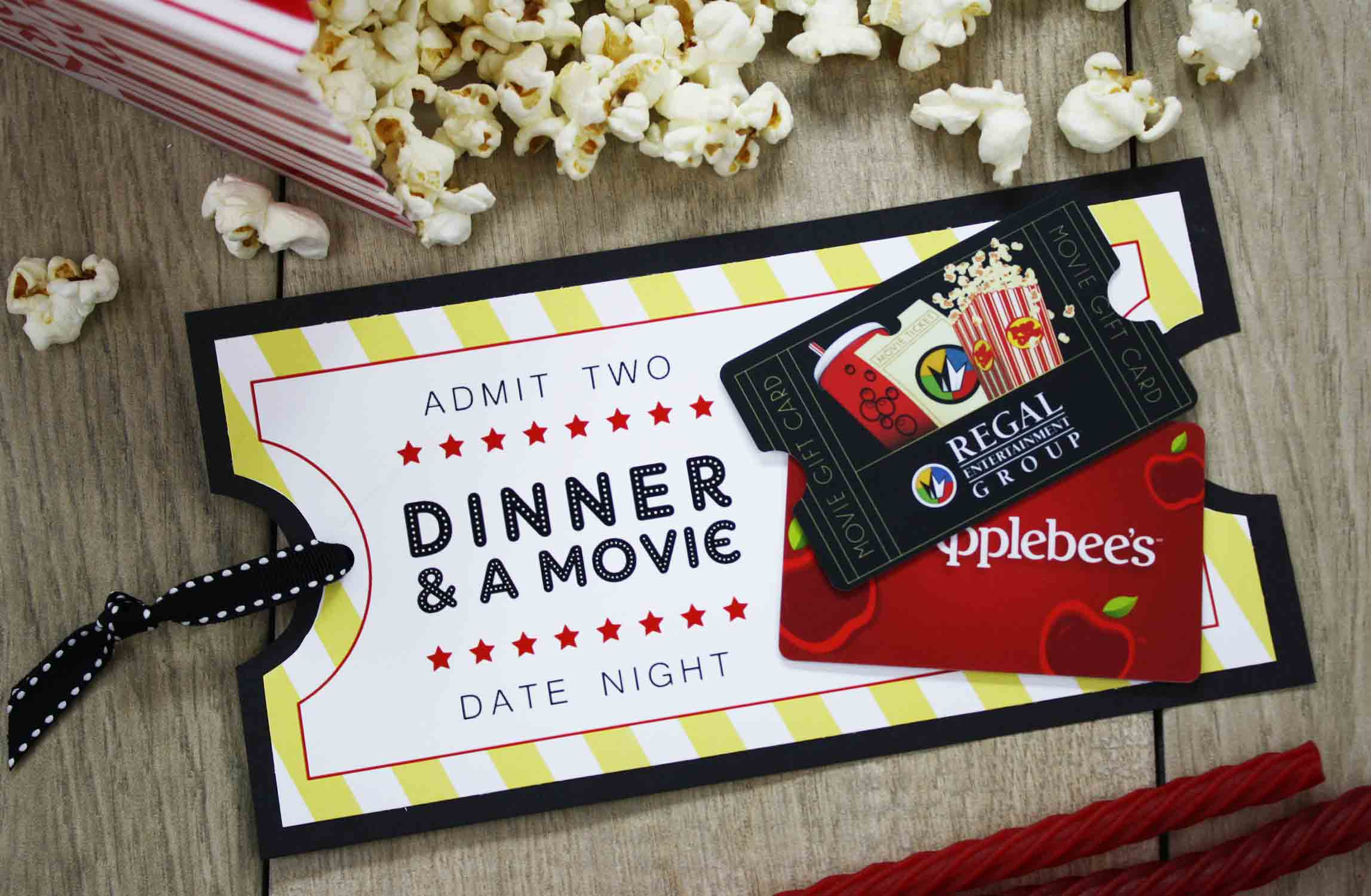 Date Night Gift For Wedding : Free Printable} Give DATE NIGHT for a Wedding Gift GCG