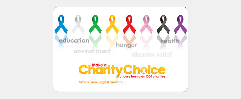 charity choice gift card