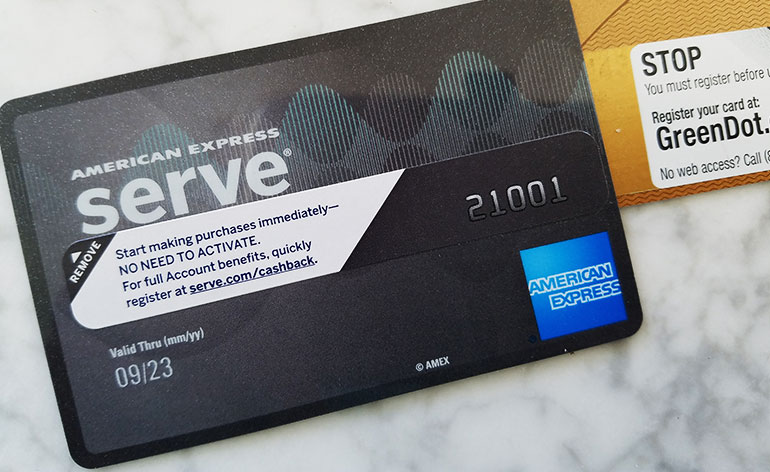 activate card first - Prepaid Rewards Card