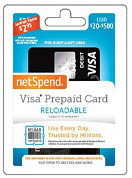 netspend prepaid card - Reloadable Prepaid Debit Card