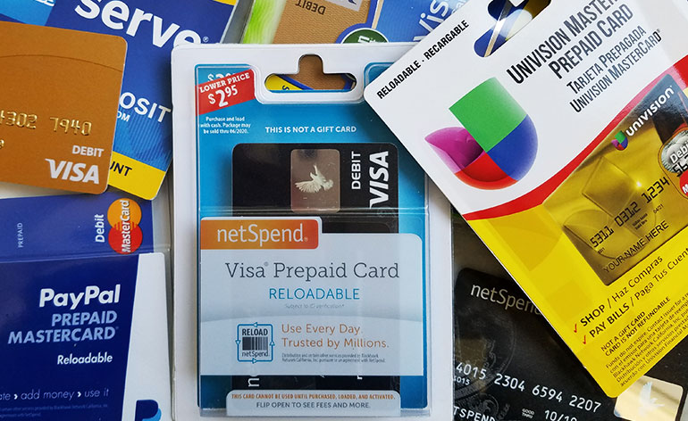reloadable prepaid cards - Reloadable Prepaid Credit Cards