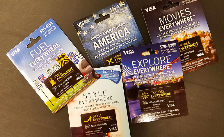 everywhere gift cards