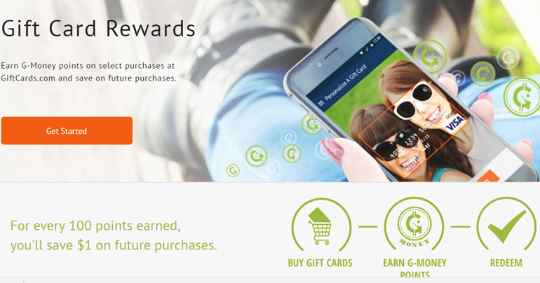 g-money gift card rewards
