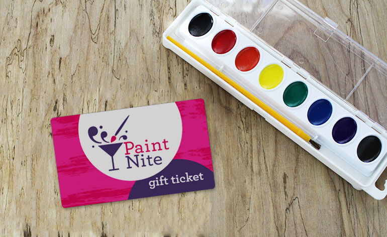 paint nite gift cards