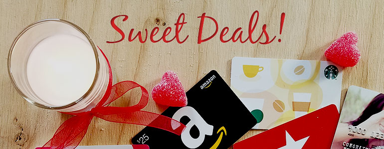 gift card deals on Valentine's Day
