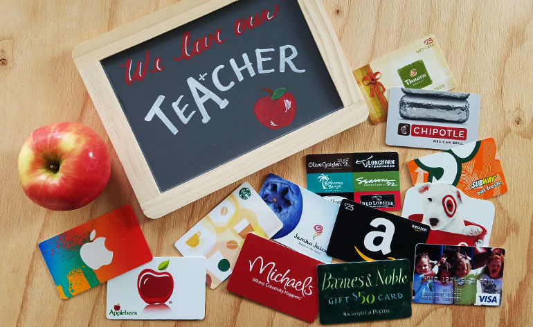 11 Best Valentine Gift Cards For Teachers In 2018 Gift Card Girlfriend
