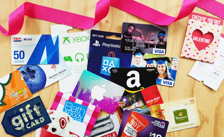 Best Valentine gift cards for teens