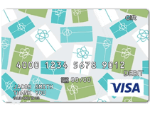 Predesigned Visa Gift Card