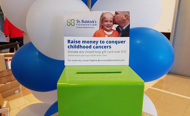gift cad donation box