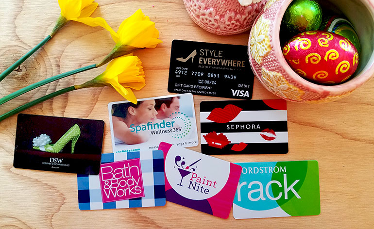 best Easter gift cards for women